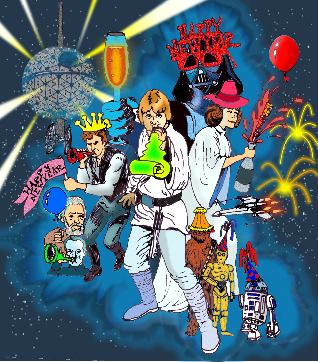 ForceCast.net: Ring In 2013 With Our Death Star New Year's ...
