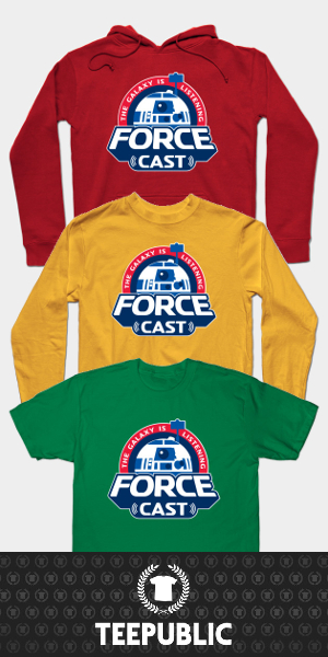 Order A ForceCast Shirt Today!